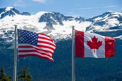canada-us-flags